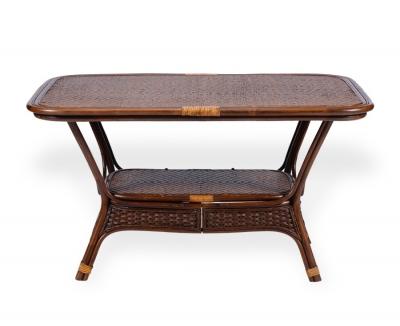 ALEXA стол обеденный овальный, орех