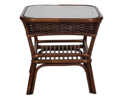 ALEXA стол кофейный квадратный, орех