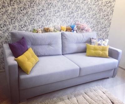Прямой диван-9