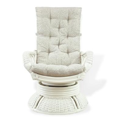 ALEXA кресло вращающееся, белый