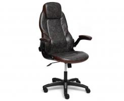 Кресло BAZUKA с коричн. вставками