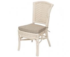 ALEXA стул обеденный без подлокотника, белый