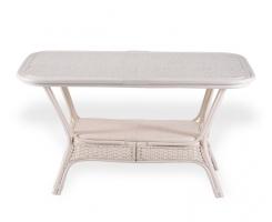 ALEXA стол обеденный овальный, белый