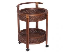 ANDREA барный столик (античный орех)