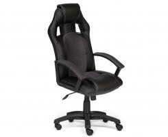 Кресло DRIVER черный/серый