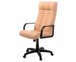 """Кресло для руководителя """"АТЛАНТ"""" ультра кожа бежевая"""
