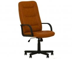 """Кресло для руководителя """"СЕНАТОР"""" ультра кожа коричневая"""