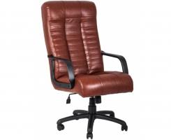 """Кресло для руководителя """"АТЛАНТ"""" ультра кожа коричневая"""
