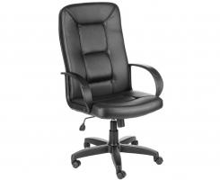 """Кресло для руководителя """"СЕНАТОР"""" ультра кожа черная"""