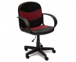 Кресло BAGGI черный/ бордо