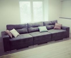 Прямой диван-17